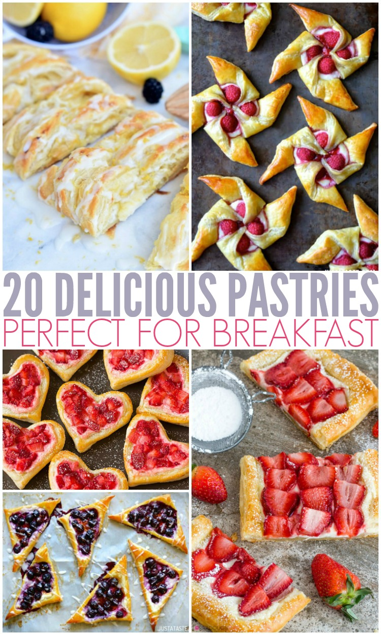 20 Delicious Pastries Perfect For Breakfast