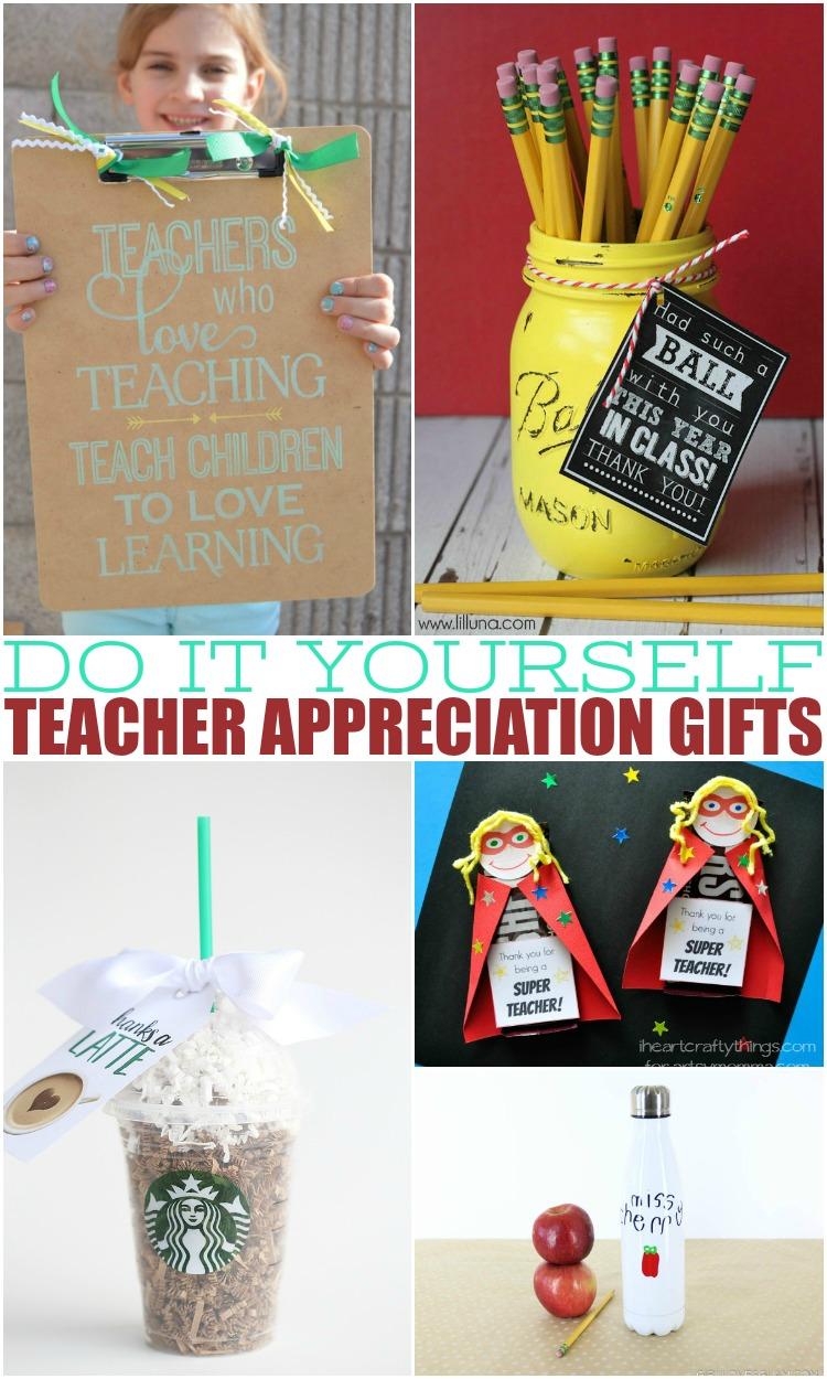 do it yourself teacher appreciation gifts
