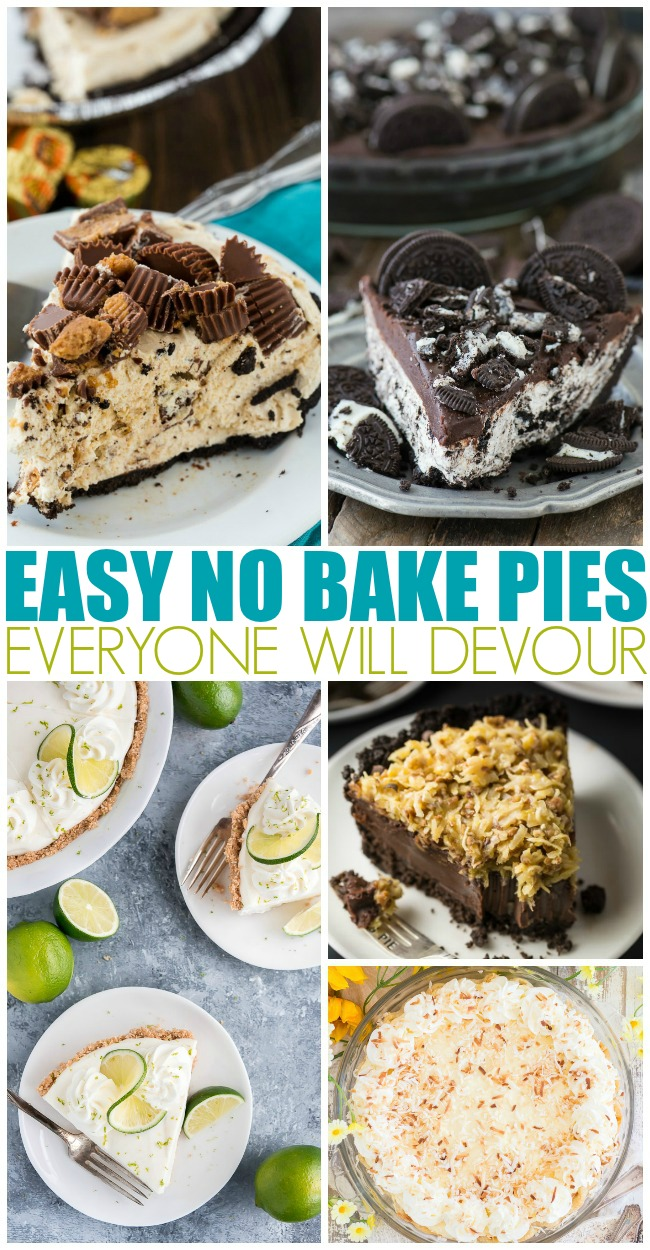 Easy No Bake Pies Everyone Will Devour