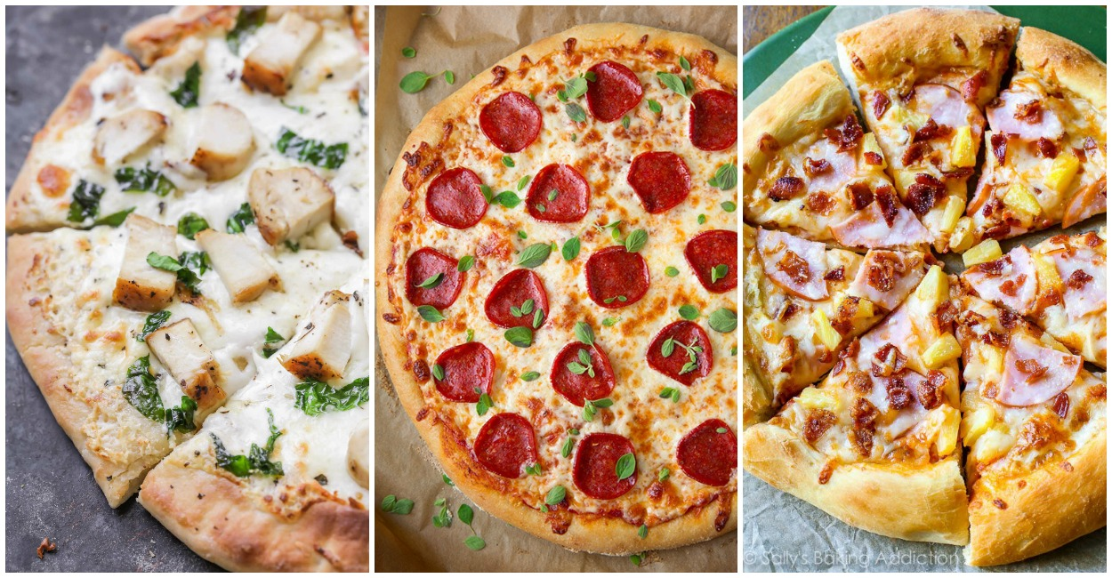 Homemade Pizzas You Can Make In Your Oven