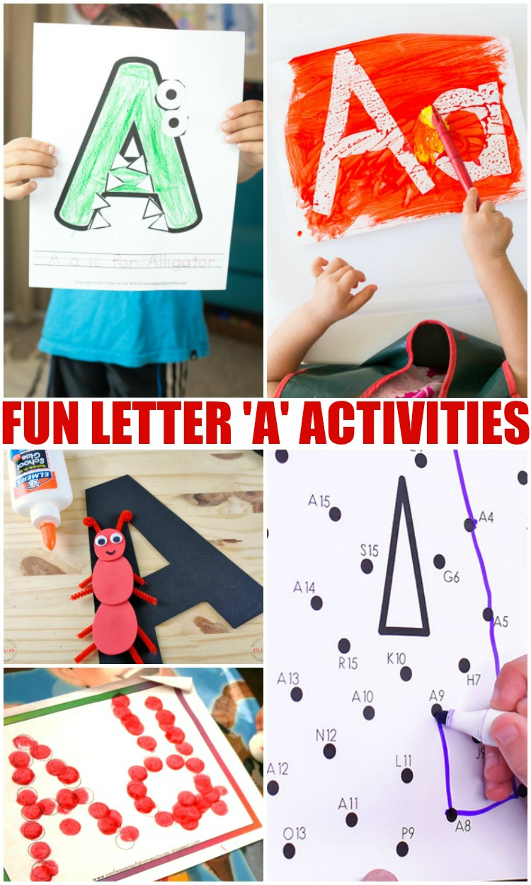 Fun Letter A Activities