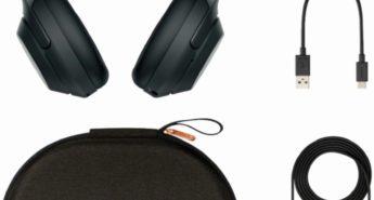 Sony Noise-Canceling Headphones: Retreat in a Crowd