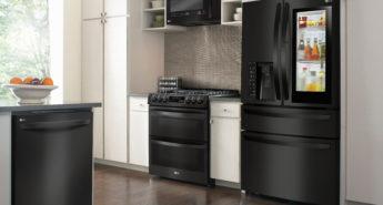 Kitchen Upgrade with LG Matte Black