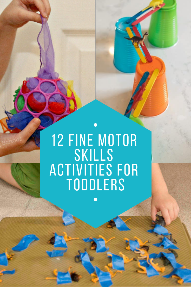 12 fine motor skills activities for toddlers mamanista. Black Bedroom Furniture Sets. Home Design Ideas