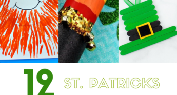 We've come up with a list of twelve different activities and crafts that kids of all ages will love to help you celebrate St. Patrick's Day!