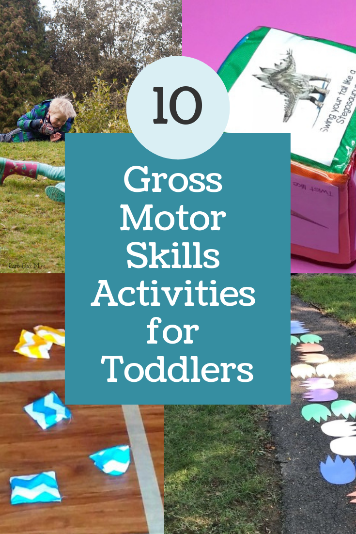 As a follow up to our article on fine motor skills, today we have a list of gross motor skills activities for toddlers that can be done at home.