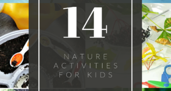 As the weather is warming up, get your kids inspired to spend more time outdoors with these 14 nature activities for kids.
