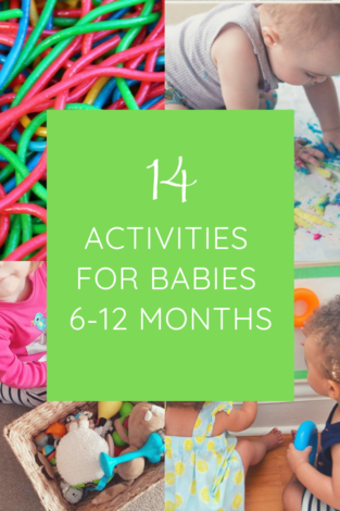 Your baby will love these 15 activities for babies 6-12 months and we think you'll have fun watching baby navigate them, too!