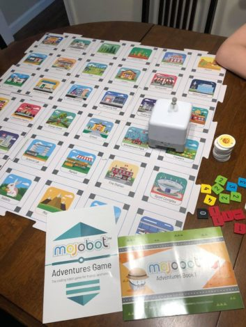 Mojobot is a fun and entertaining tangible coding robot and board game that makes it easy and fun for kids and adults to learn coding.