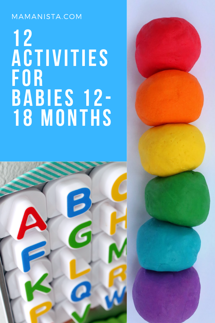 As your baby is growing and developing and exploring, try out some of these activities for babies 12-18 months we've listed below.