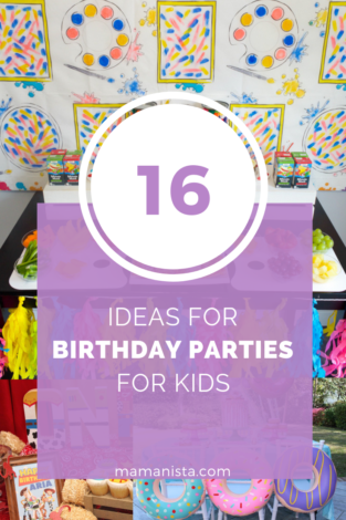 Planning a party? Check out these 16 birthday party ideas for kids that are sure to inspire you and help you with your planning!