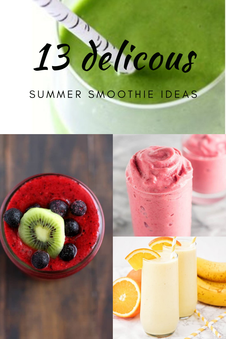 Smoothies are good for this time of year because they are cold, refreshing, and delicious! Check out these summer smoothie recipes for some ideas.