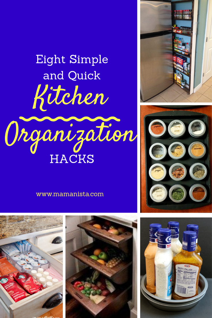 Check out these simple kitchen organization hacks that, with a little time and effort, will make preparing meals so much easier!
