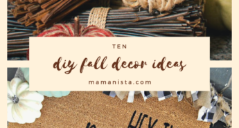 If you're finding yourself daydreaming about autumn, check out these DIY fall decor ideas that will get you and your home geared up for fall!
