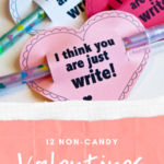 If you are looking for cute and creative valentines for your kids to hand out - check out these 12 non-candy valentines for kids.